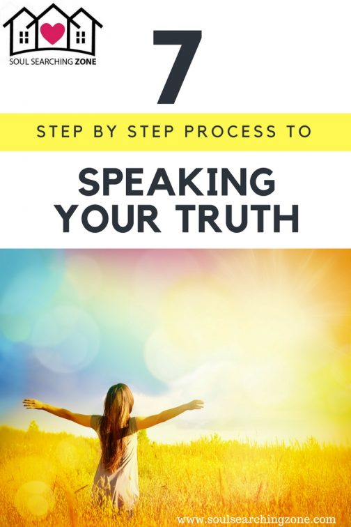 How to speak your truth