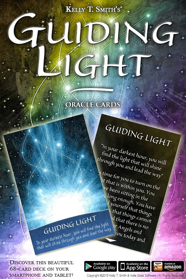 Guiding Light Oracle Cards App