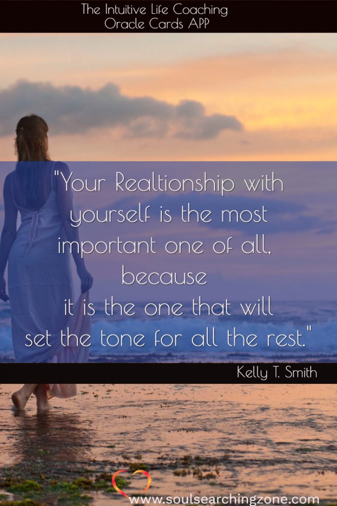 your relationship with yourself