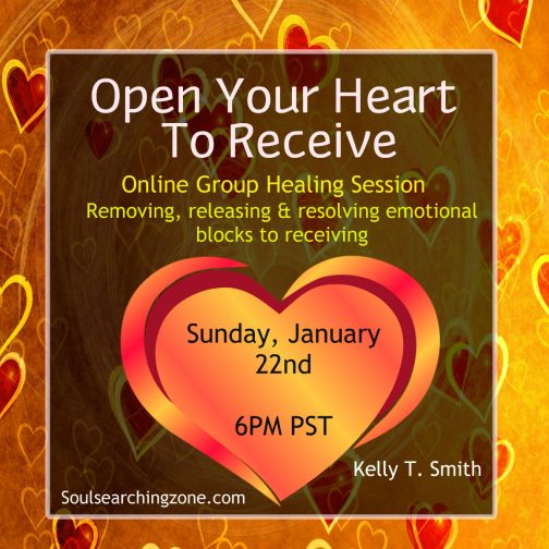 Open Your Heart To Receive!