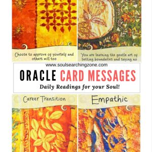 Oracle Card Messages/ Daily Readings/ Saturday March 18th
