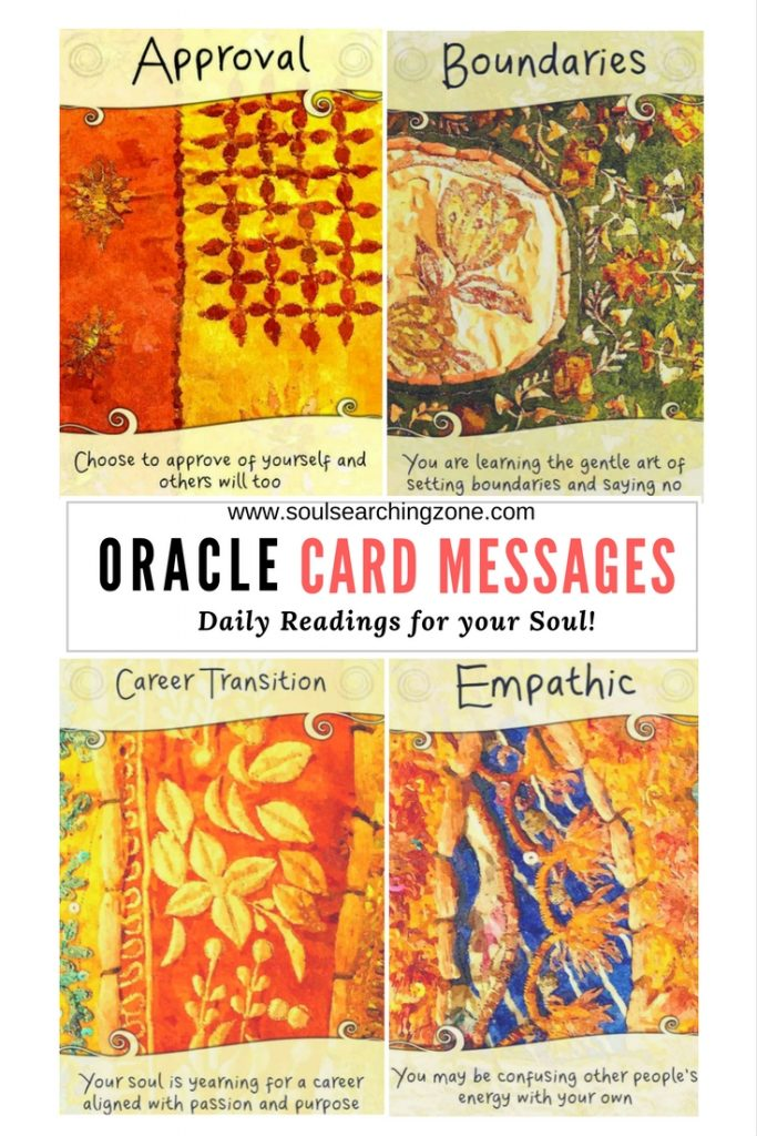 Oracle Card Messages