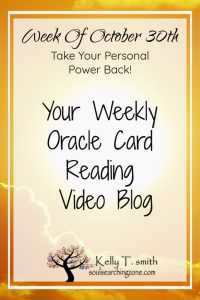 Weekly Oracle Card Reading October 29th