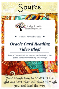 Oracle Card Reading- Week of November 12th