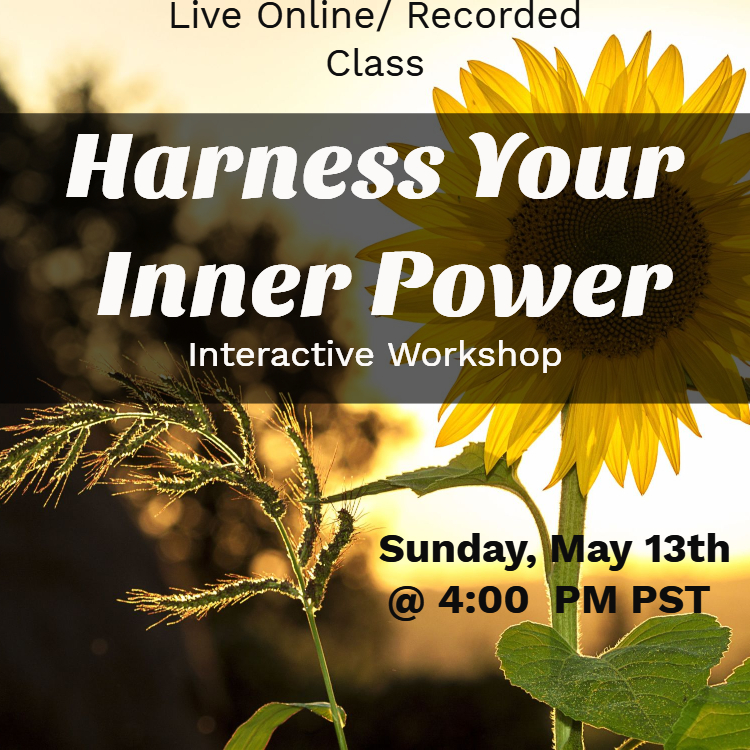 Harness Your Inner Power Workshop