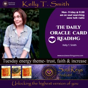 Daily Oracle Card Reading- Trust, Faith & Increase