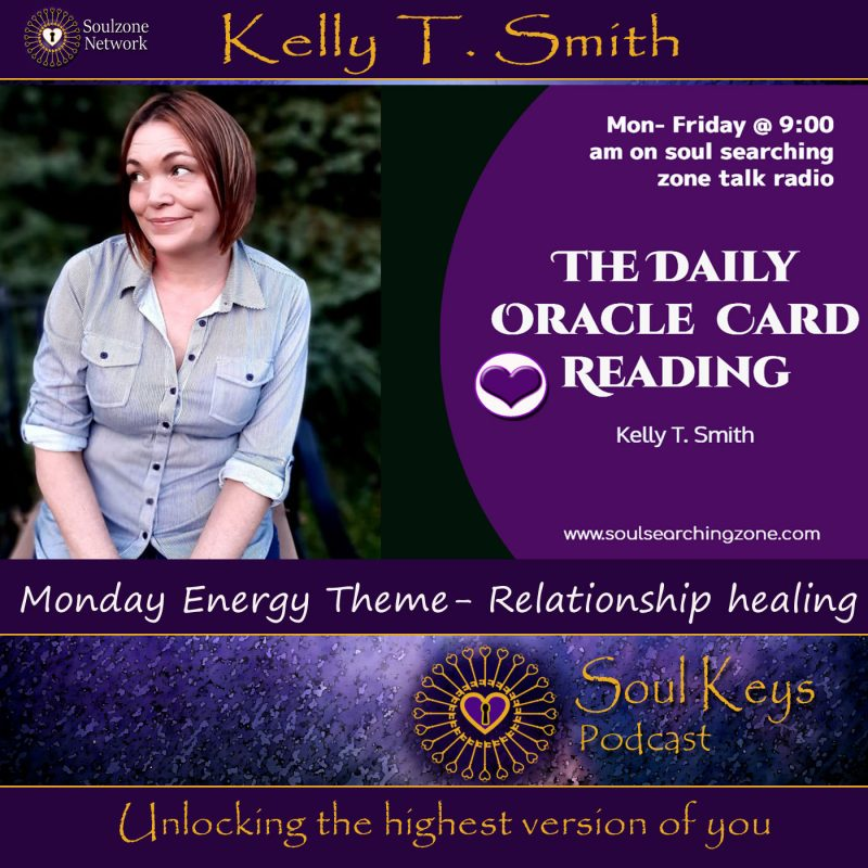 Daily Oracle Card Reading- Relationship Healing & Transformation
